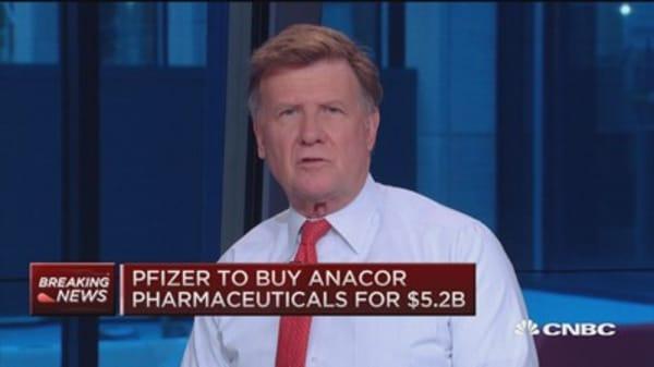 Pfizer to buy Anacor Pharma for $5.2B
