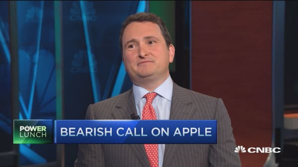 Apple downside ahead: Strategist