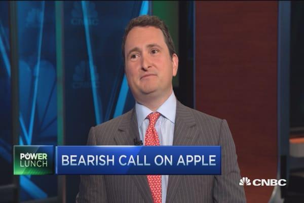 Apple downside ahead: Strategist
