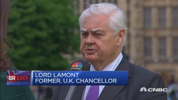 The single market isn't a fortress: Lord Lamont
