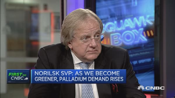 We're pretty strong in platinum production: Norilsk SVP