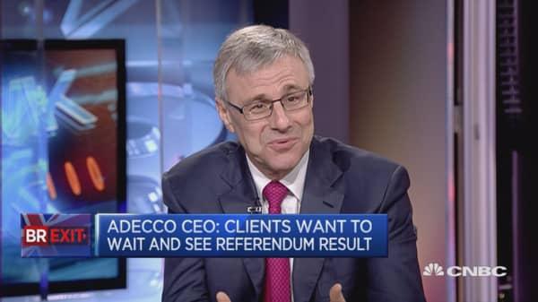 Brexit impacting UK finance jobs: Adecco