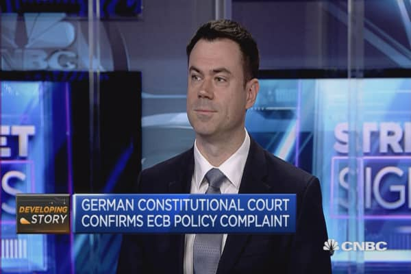 German Constitutional Court confirms ECB policy complaint