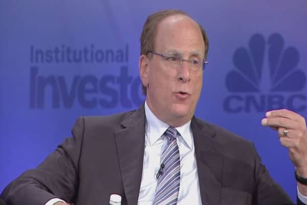 BlackRock's Fink tells China to get aggressive on reforms