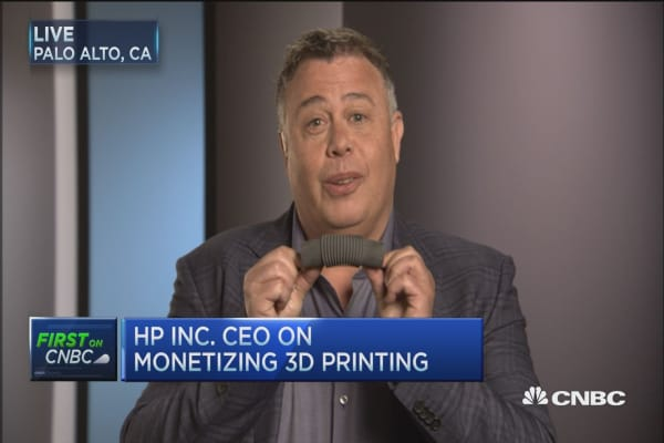 HP unveils first 3-D commercial printer
