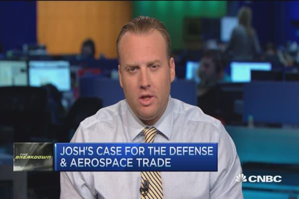 Trader: Buy aerospace & defense sector