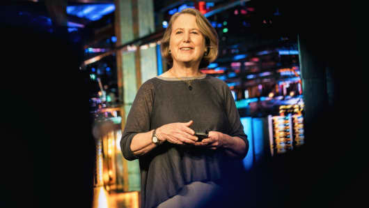 Diane Greene, Sr. Vice President for Google's Cloud businesses.