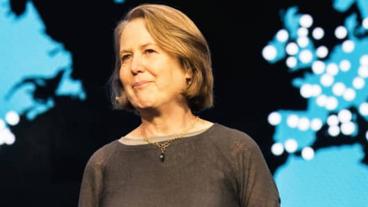 Diane Greene, Sr. Vice President for Google's Cloud businesses.