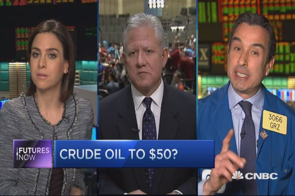 Oil going to $50: Trader
