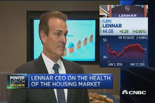 Lennar's homebuilding outlook