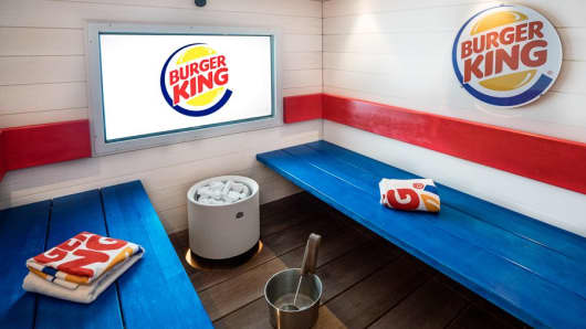 Burger King Sauna