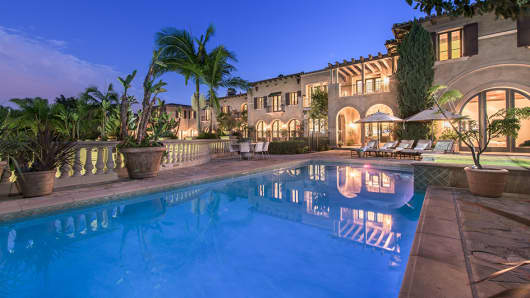 $40,000,000 mansion at 200 Delfern Drive being marketed by David Parnes of MDLLA & The Agency Real Estate