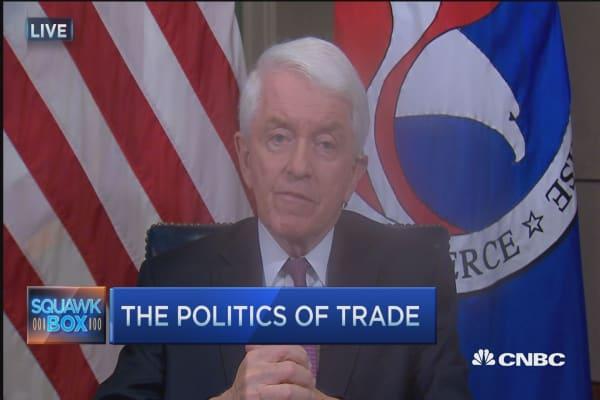 Thomas Donohue: Free trade creates jobs
