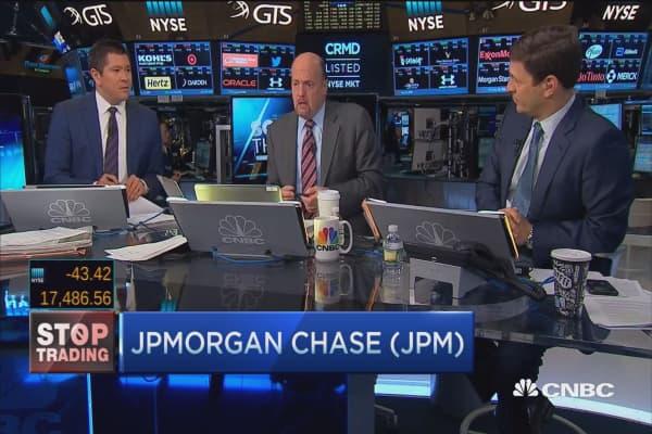 Cramer's Stop Trading: JPMorgan Chase