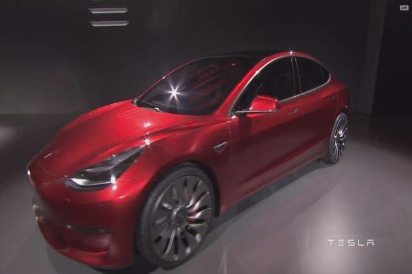 Goldman Sachs upgrades Tesla, likes Model 3