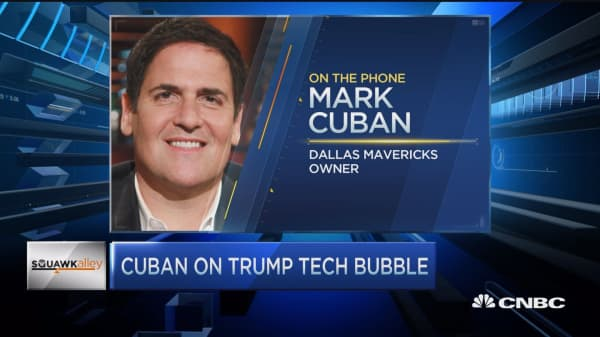 Mark Cuban: Trump is horrible on Twitter