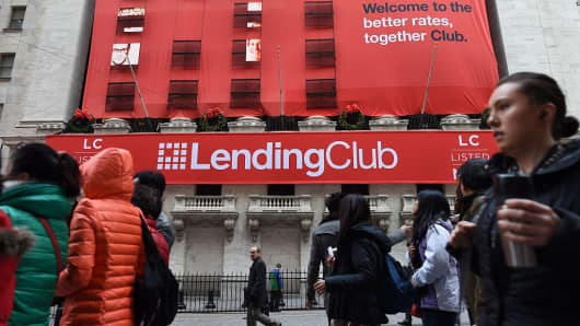 Lending Club outside the NYSE