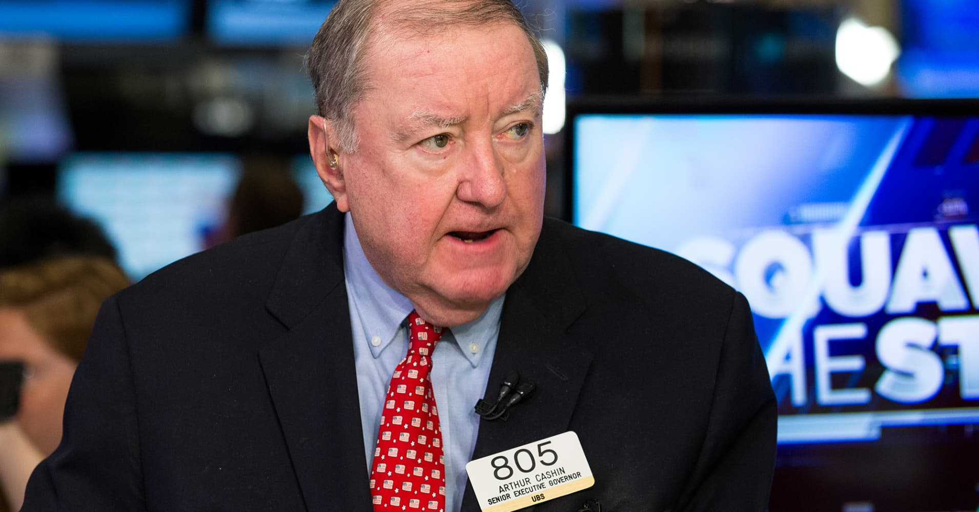Art Cashin warns about a 'wild card' remark on a 2008 financial crisis repeat