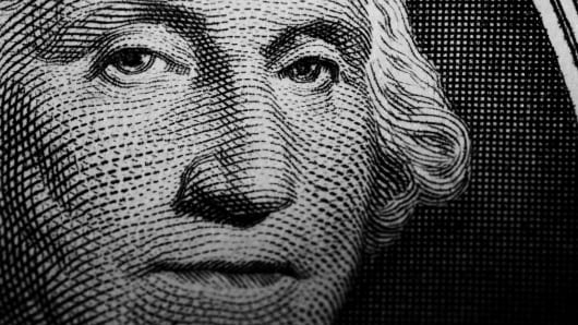 U.S. dollar close up