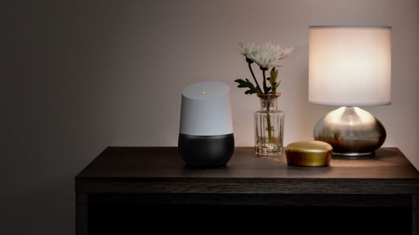 Google Home is a voice-activated home product that allows you and your family to get answers from Google, stream music, and manage everyday tasks.