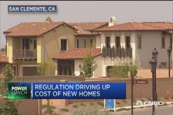 Regulation raising home prices