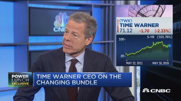 Time Warner's Bewkes: We've got strong networks
