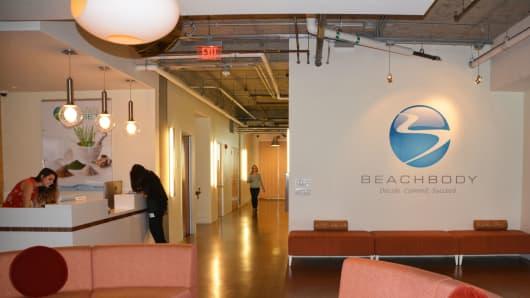 Beachbody headquarters in Santa Monica, California
