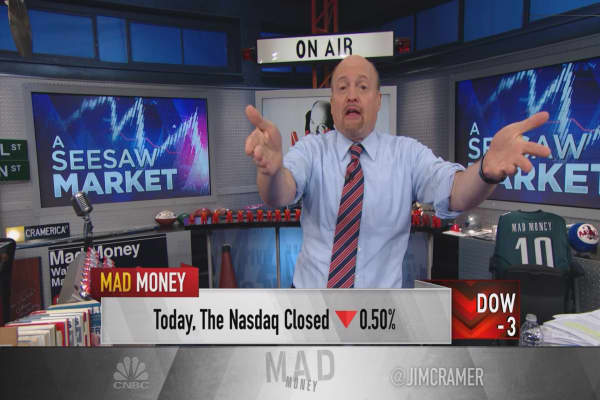 Cramer: Secret to winning in a Fed sell-off