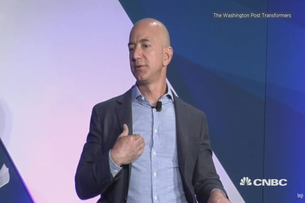 Amazon CEO responds to Trump's attacks