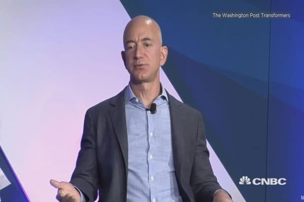 Amazon's Bezos on tech privacy concerns