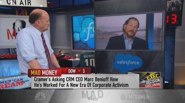 Salesforce CEO: Using the power of business for social change