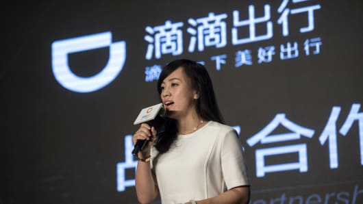 Jean Liu, president of Didi Kuaidi, the number one ride-sharing and taxi-hailing service in China.