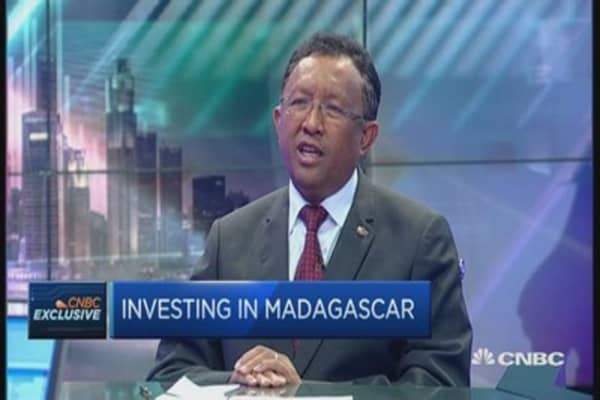 (hold off first please) President: Madagascar is on the path of stability