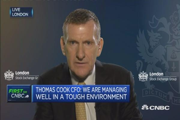 EgyptAir events signal disruptive environment: Thomas Cook