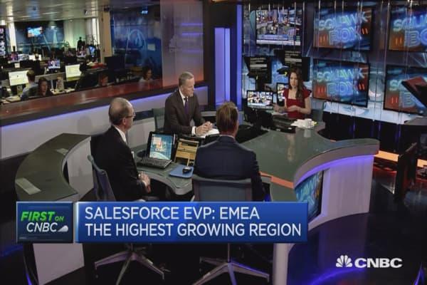 AI is a growing trend: Salesforce EVP
