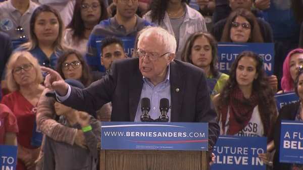 Bernie Sanders' relationship with Democrats fraying