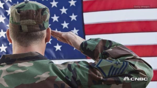 Benefits for servicemen