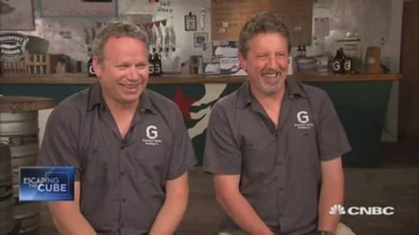 College beer buddies quit day jobs to open a brewery