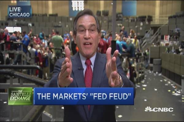 Market-Fed fued: Santelli