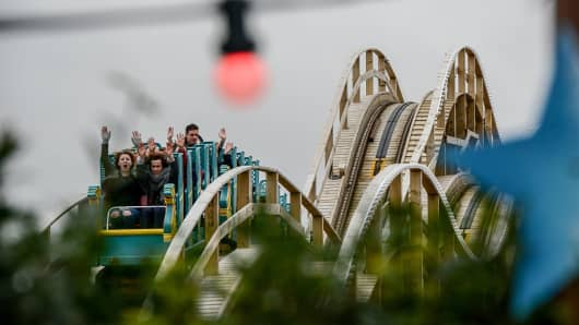 Rollercoaster dips, profit dips