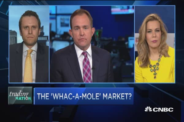 Trading Nation: The 'whac-a-mole' market