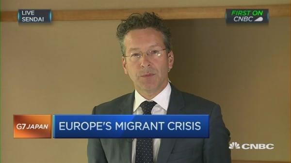 Dijsselbloem on the euro zone economy