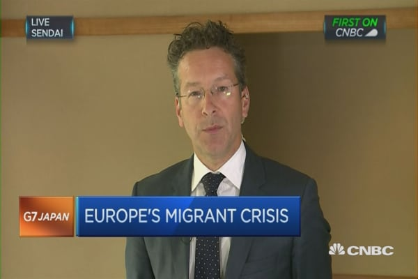 Dijsselbloem on the euro zone economy