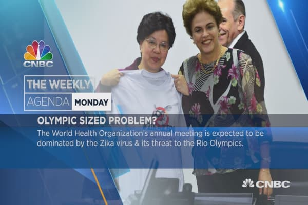 Weekly Agenda: Greece, Shinzo Abe, Monaco Grand Prix