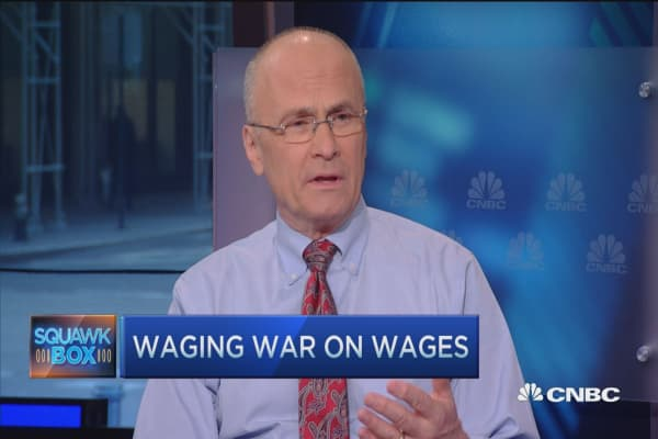 Unintended consequences of wage hikes: CEO