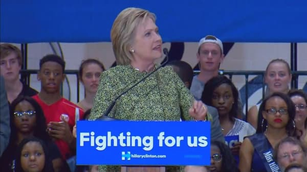 Clinton's plan could raise costs for some Obamacare cutomers