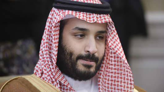 Mohammed bin Salman of Saudi Arabia