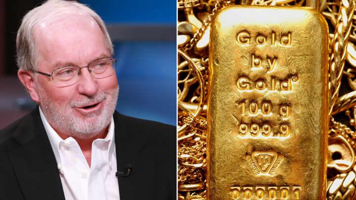 Dennis Gartman on the gold market.