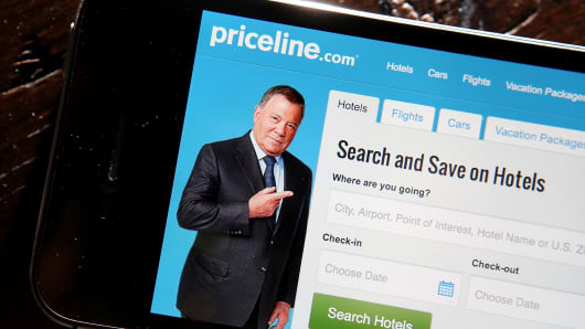 Priceline travel app
