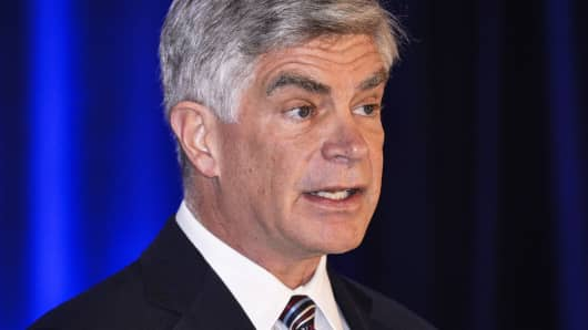 Patrick Harker, president and chief executive officer of the Federal Reserve Bank of Philadelphia.